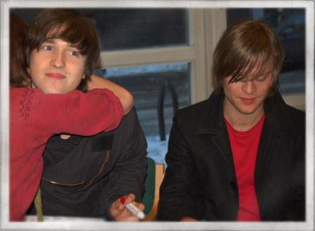 Carl-Johan och Björn